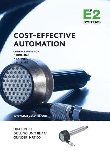 Cost-effective automation BE 11