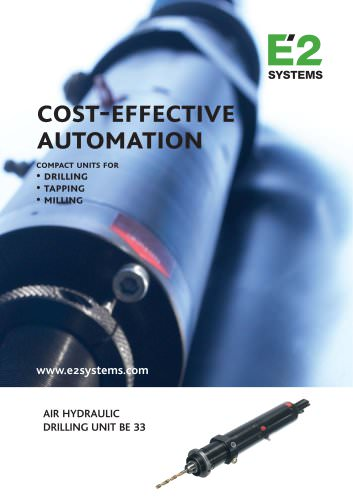 Cost-effective automation BE 33
