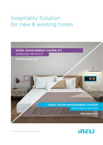 Hospitality Solution for new & existing hotels