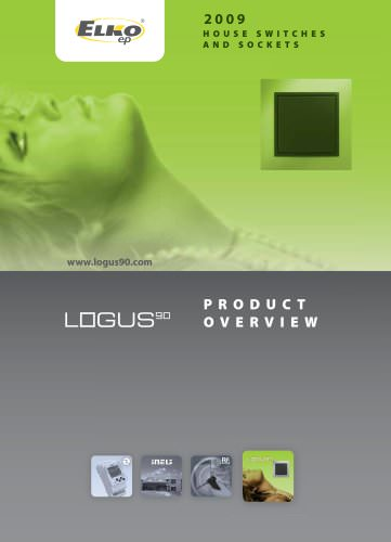 House switches and sockets Logus 90