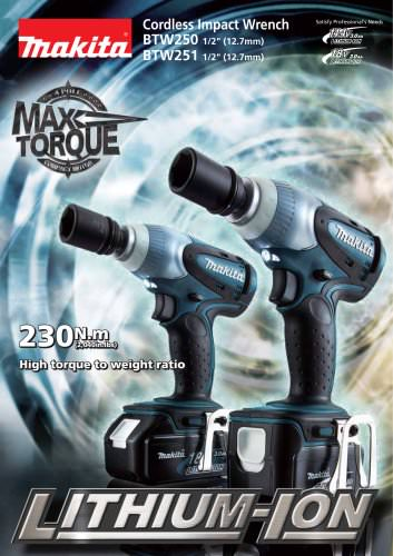 Cordless Impact Wrench   BTW251