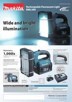 Rechargeable Fluorescent Light BML360