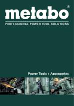 Metabo main catalogue 2018/2019
