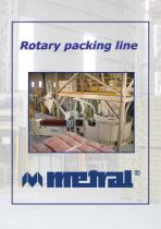 Rotary packing line
