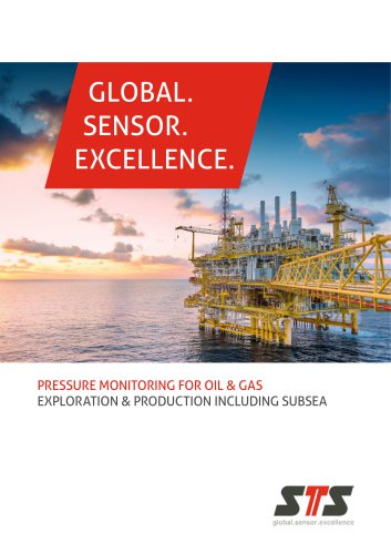 Pressure monitoring for Oil & Gas, exploration & production including subsea