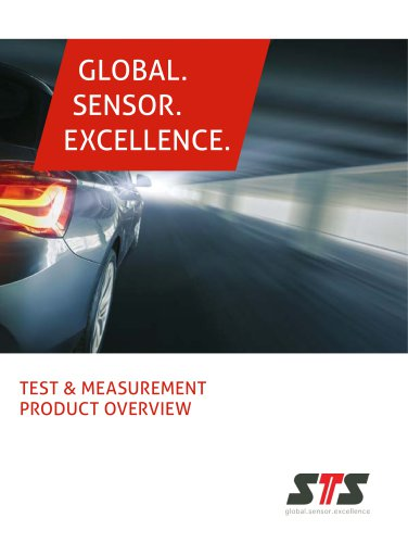 TEST & MEASUREMENT PRODUCT OVERVIEW