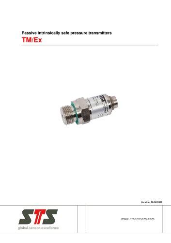 TM/Ex Passive pressure transmitter ATEX