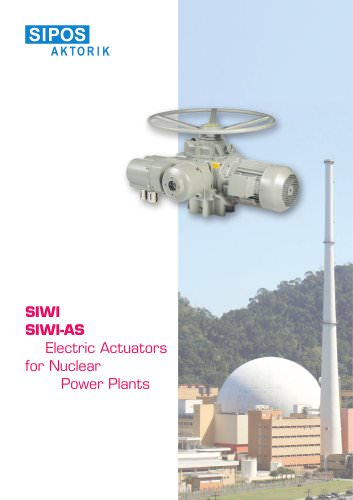 SIPOS electric rotary actuators for nuclear applications