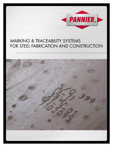 Marking & traceability systems for steel fabrication and construction