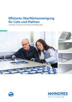 Effective surface cleaning for blanks and coils (sheet metal work industry) - 1