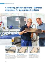 Effective surface cleaning for boards, panels and laminates | Combi Sword Brushes for industrial panel production - 2
