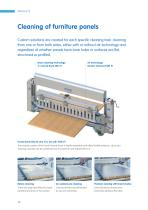 Effective surface cleaning for boards, panels and laminates | Combi Sword Brushes for industrial panel production - 6