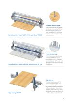 Effective surface cleaning for boards, panels and laminates | Combi Sword Brushes for industrial panel production - 7