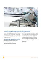 Effective surface cleaning of cardboard, paper and foil webs (printing and converting industry) - 2