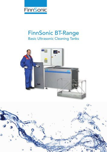 Basic tanks for ultrasonic cleaning