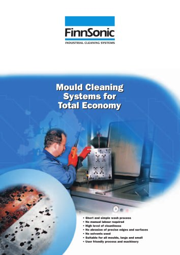 Mould cleaning machines