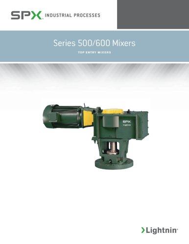Series 500/600 Mixers