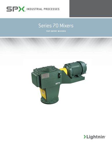 Series 70 Mixers