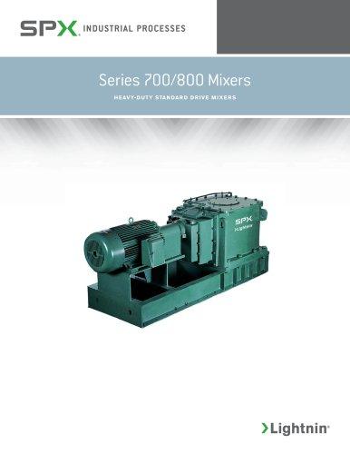 Series 700/800 Mixers