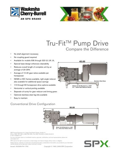 Close Coupled Pump Drive