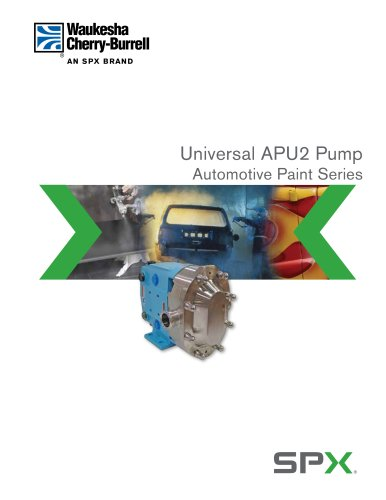 Universal APUII Series  Rotary Positive Displacement Pumps