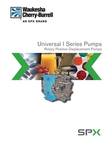 Waukesha Universal I PD Pump Brochure