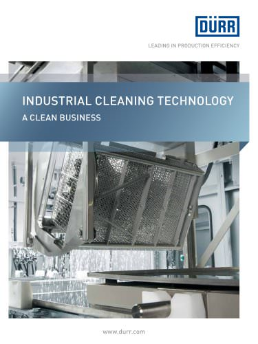 Dürr Ecoclean: Industrial Cleaning Technology