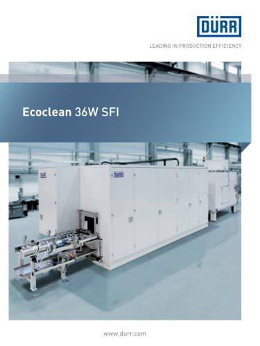 Ecoclean 36W SFI