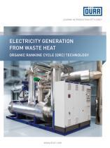 Organic Rankine cycle (orc) technology - 1