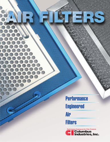 Aluminum Range Hood Filters Columbus Industries Pdf Catalogs Technical Documentation Brochure
