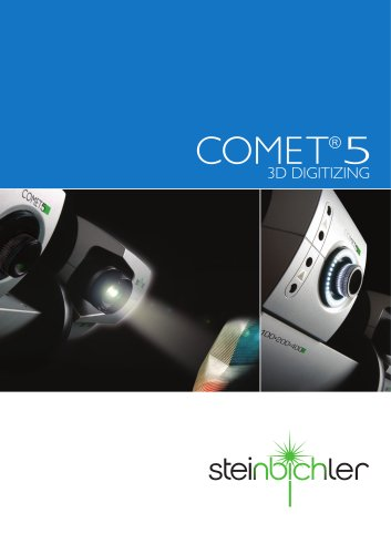 COMET 5 - 3D Digitizing