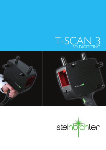 T-SCAN 3 - 3D Digitizing