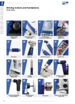 Driving motors and handpieces