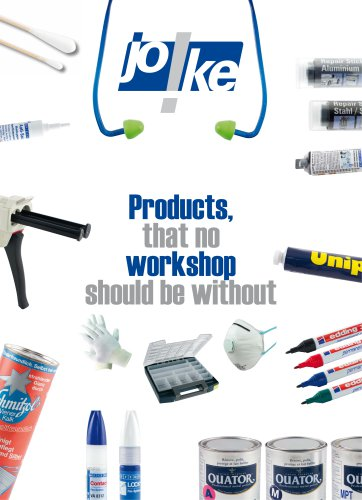 Products, that no workshop should be without