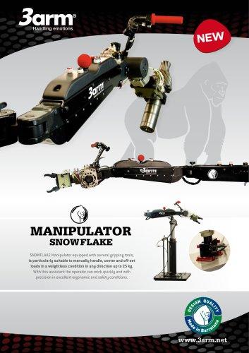MANIPULATOR 3ARM - SNOWFLAKE