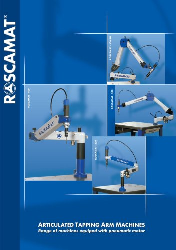 Pneumatic Tapping Arm Machines