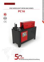 End Hot Wrought Iron Machine PC16