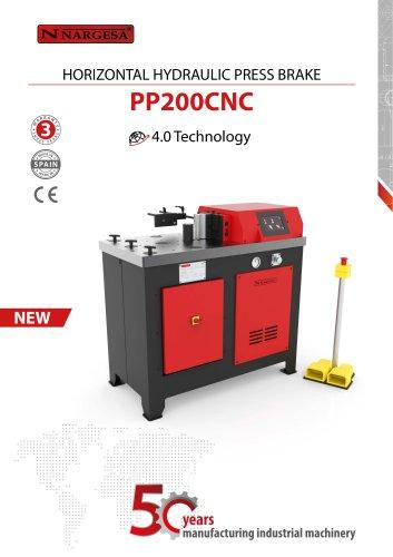 Horizontal Hydraulic Press Brake PP200