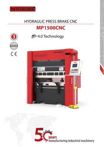 Hydraulic press brake MP1500CNC