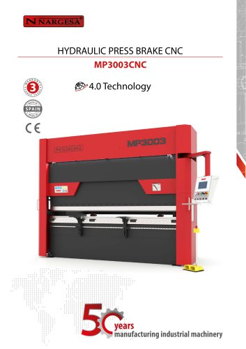 Hydraulic press brake MP3003 CNC