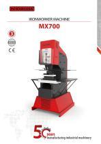Hydraulic Punching and Shearing Machine MX700