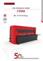 Hydraulic Shear C3006 CNC