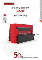 Hydraulic Shears C2006CNC