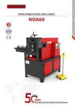 Iron embossing machine NOA60