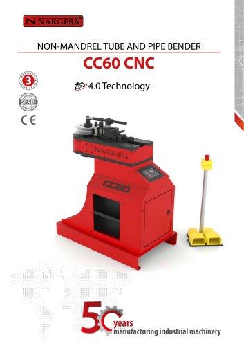Non-mandrel tube and pipe bender CC60 CNC