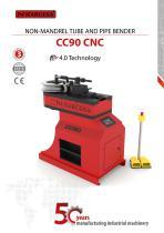 Non-mandrel tube and pipe bender CC90 CNC