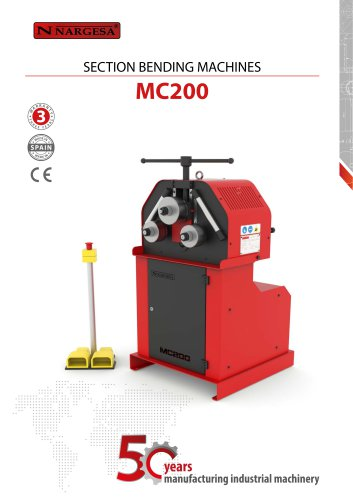 Section Bending Machine MC200