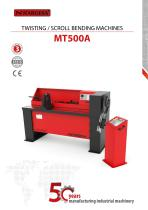 Twisting Iron Machine MT500A