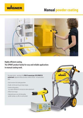 Brochure Manual powder coating