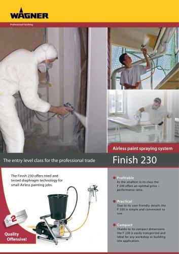 Finish 230 Lacquer Spraypack